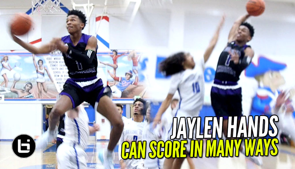Jaylen Hands Pulls All The Tricks Out The Bag In Loss | Top PG Can Score In Multiple Ways