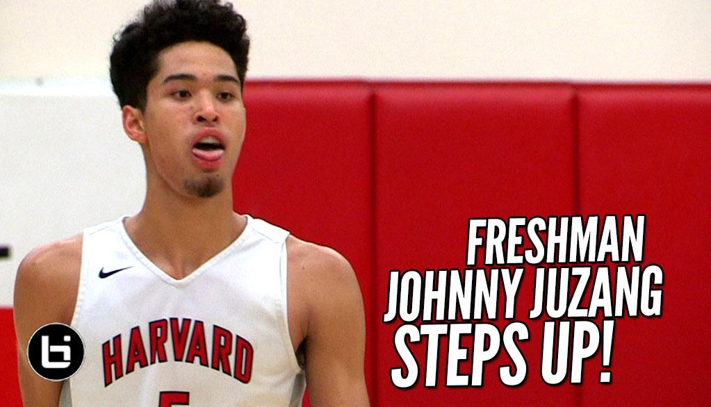 Freshman Johnny Juzang STEPS UP! Harvard Westlake vs St Francis Full Highlights!