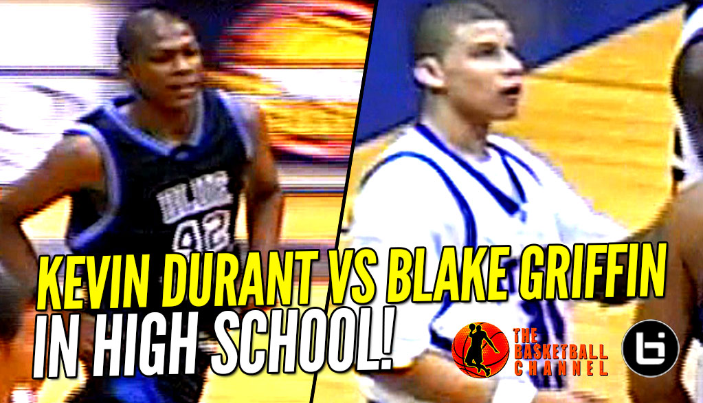 Kevin Durant vs Blake Griffin IN HIGH SCHOOL Highlight Mixtape! KD Dunks on Blake!