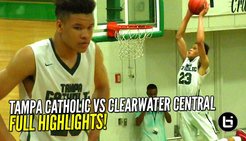 Kevin Knox ELITE STATUS!! Drops 32 & 19 Against CCC! Full Highlights!
