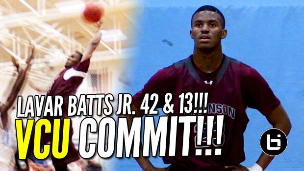 Lavar Batts Jr. Drops 42 Pts & 13 Rebs in Conference Matchup! Raw Game Highlights!