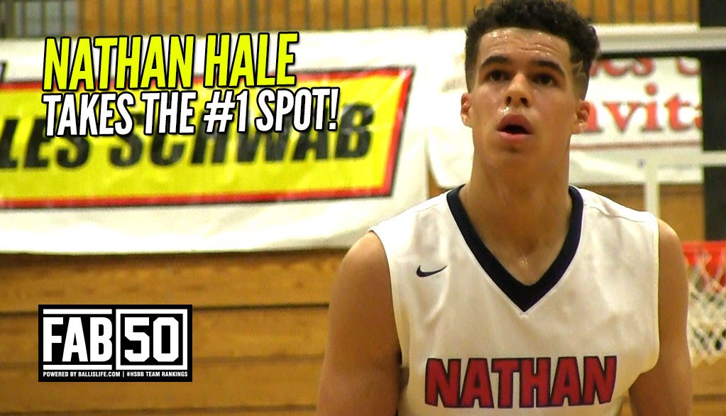 Michael Porter DELIVERS! Hale is NEW FAB 50 No. 1!
