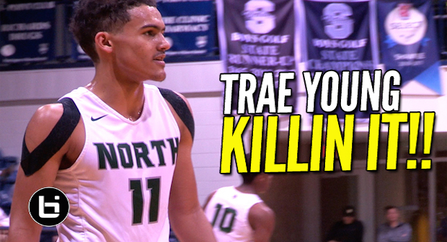 No One In Oklahoma Can Stop Trae Young! 3 Game Mixtape!
