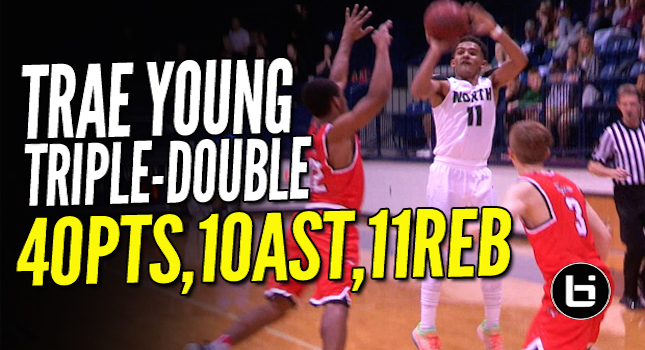 """That Boy Good!"" Trae Young Nasty Triple-Double in 3QTRS!!"