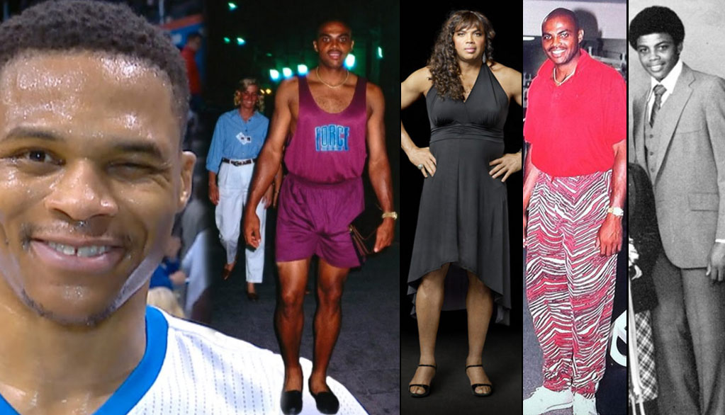 """Top 10 Most """"Turrible"""" Charles Barkley Outfits"""