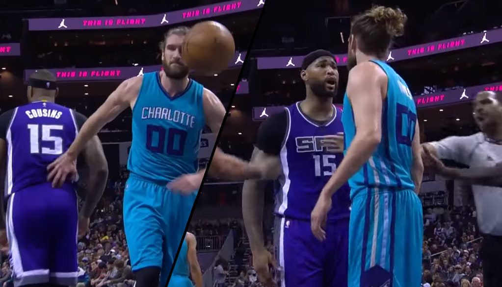 Spencer Hawes Gets Into A Mini-Scuffle With DeMarcus Cousins