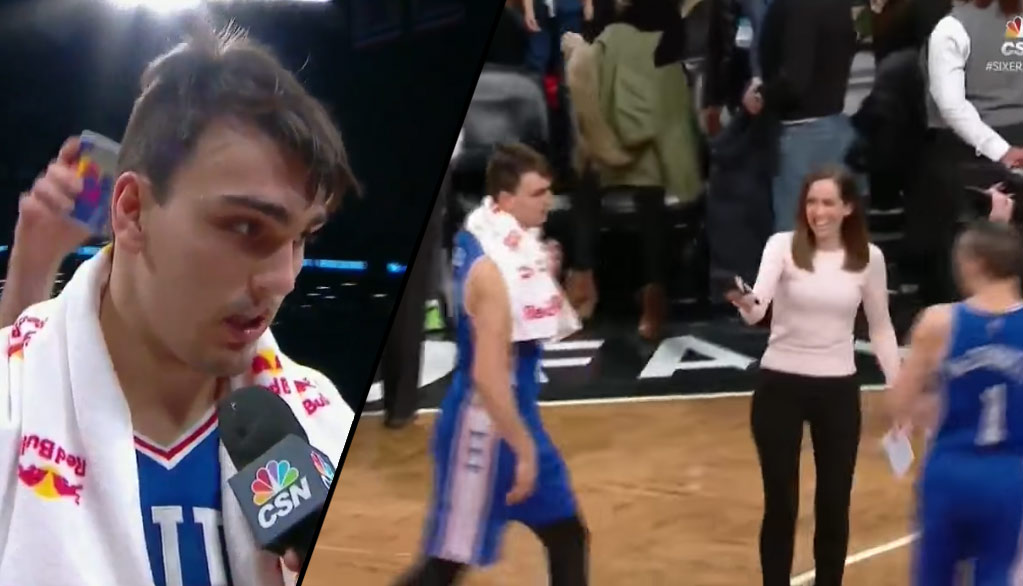 76ers Rookie Dario Saric Apologizes For Cursing Out Teammate On Live TV