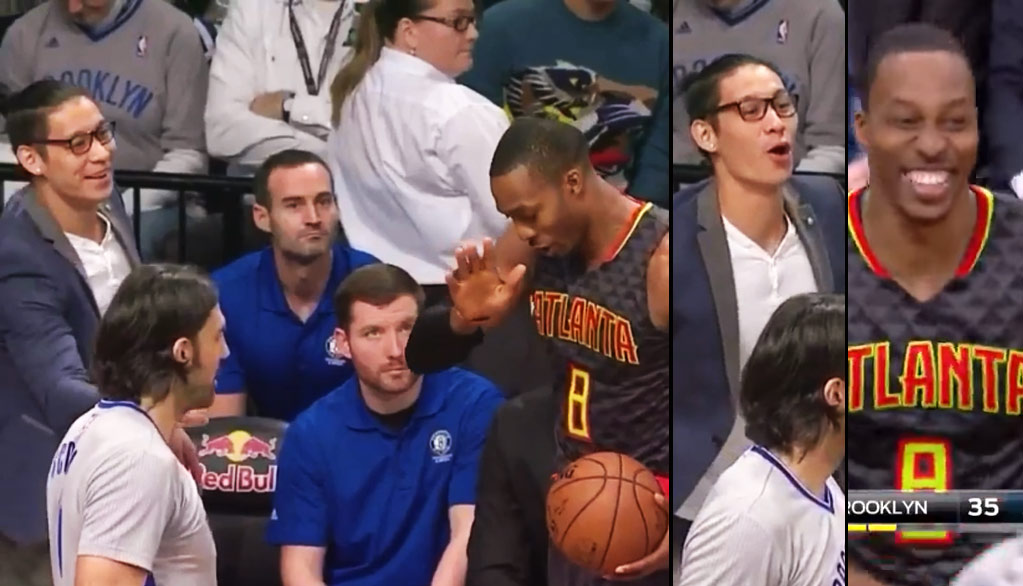 Dwight Howard Gets Booed For Faking A Handshake & Dabbing On Jeremy Lin