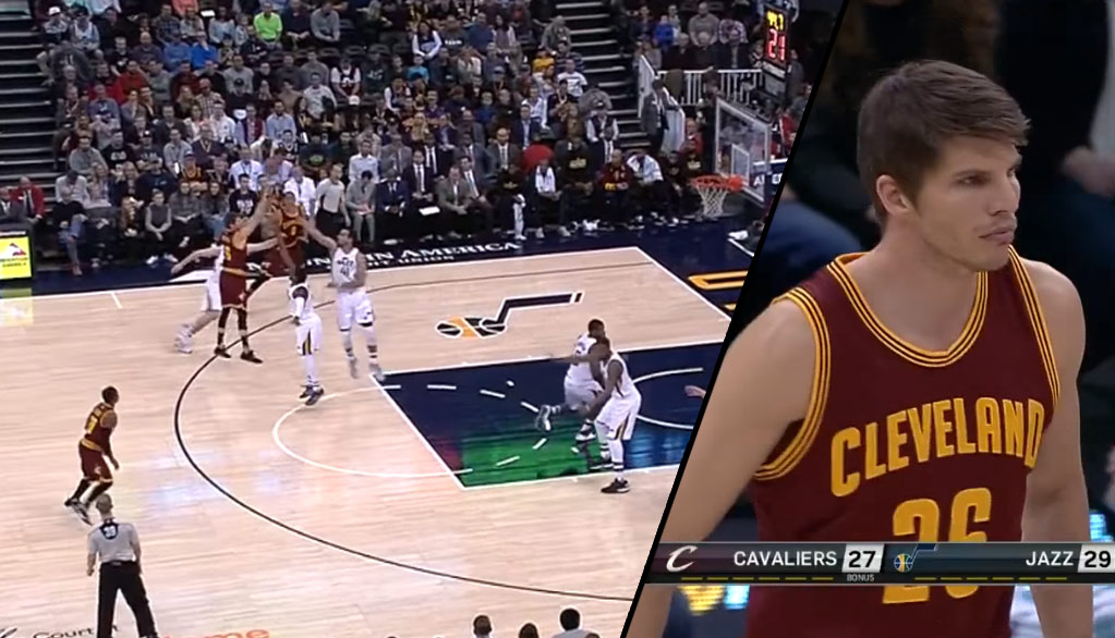 Kyle Korver Scores Two Points In Cavs Debut, Loss To Jazz