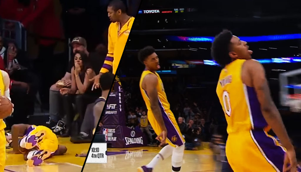 Nick Young Died In The 1st Half, Came Back As A 3-Point Shooting Zombie