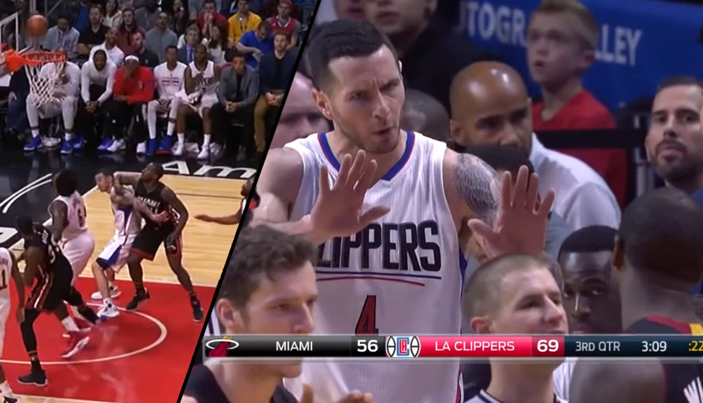 Dion Waiters Ejected For Elbowing JJ Redick In The Back Of The Head