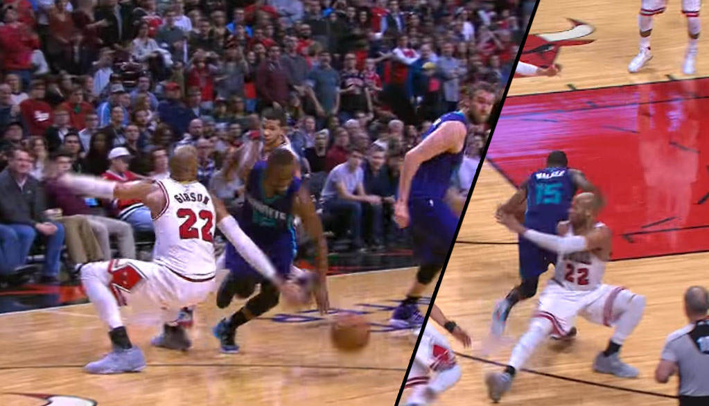 Kemba Walker Scores 34, Drops Taj Gibson With A Crossover