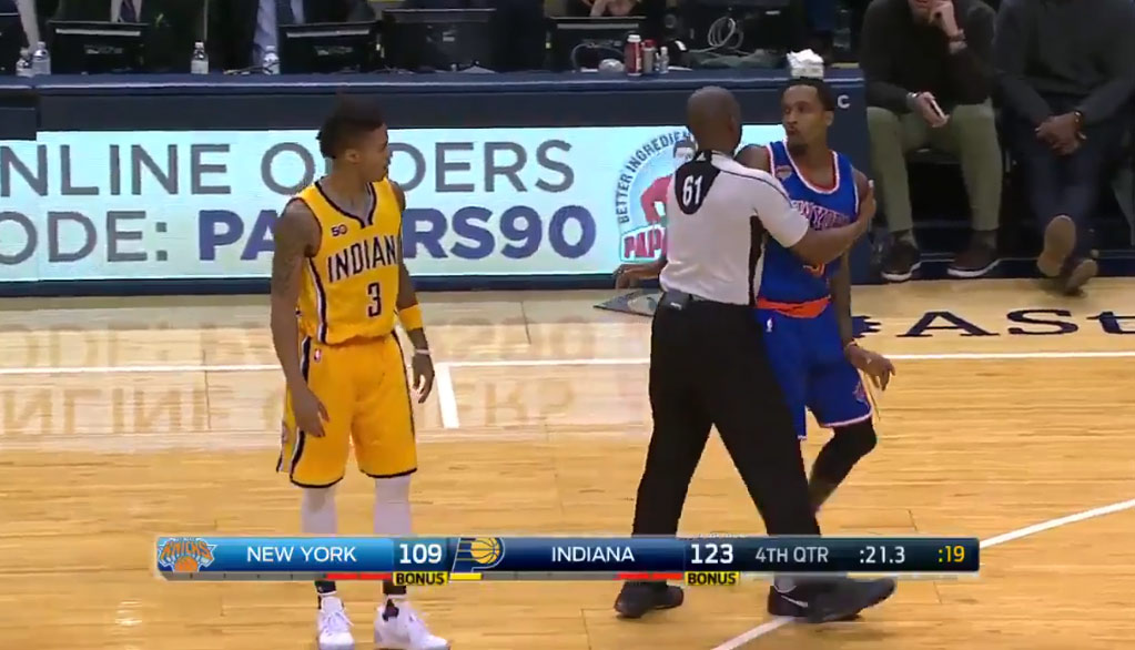 Joe Young Plays 1 Minute, Gets Ejected For Talking Trash To Brandon Jennings
