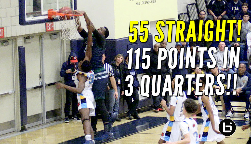 Liangelo Ball Drops 62 Points & Onyeka Okongwu Baptizes a Helpless Defender!!
