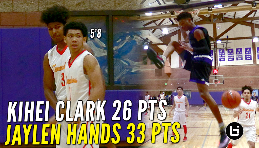 Jaylen Hands vs Kihei Clark SICK Point Guard Battle!! Taft vs Foothills FULL Highlights