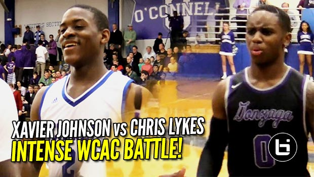 Chris Lykes & Xavier Johnson CLASH & Combine for 57 in WCAC Battle!