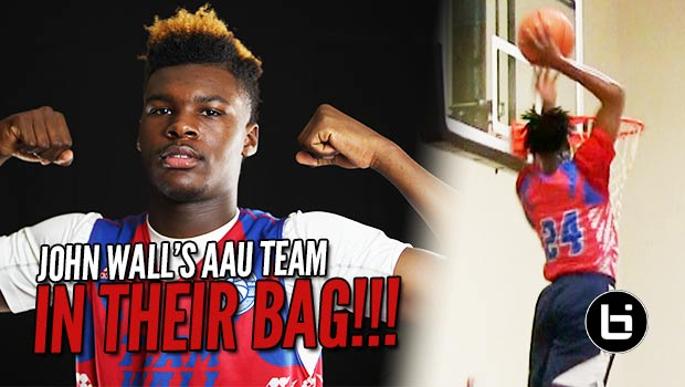 Malik & Telligence Direct SHOWTIME for John Wall's AAU Team in Year 2!