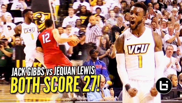 JeQuan Lewis & Jack Gibbs Go for 27 Each in A-10 Match-Up
