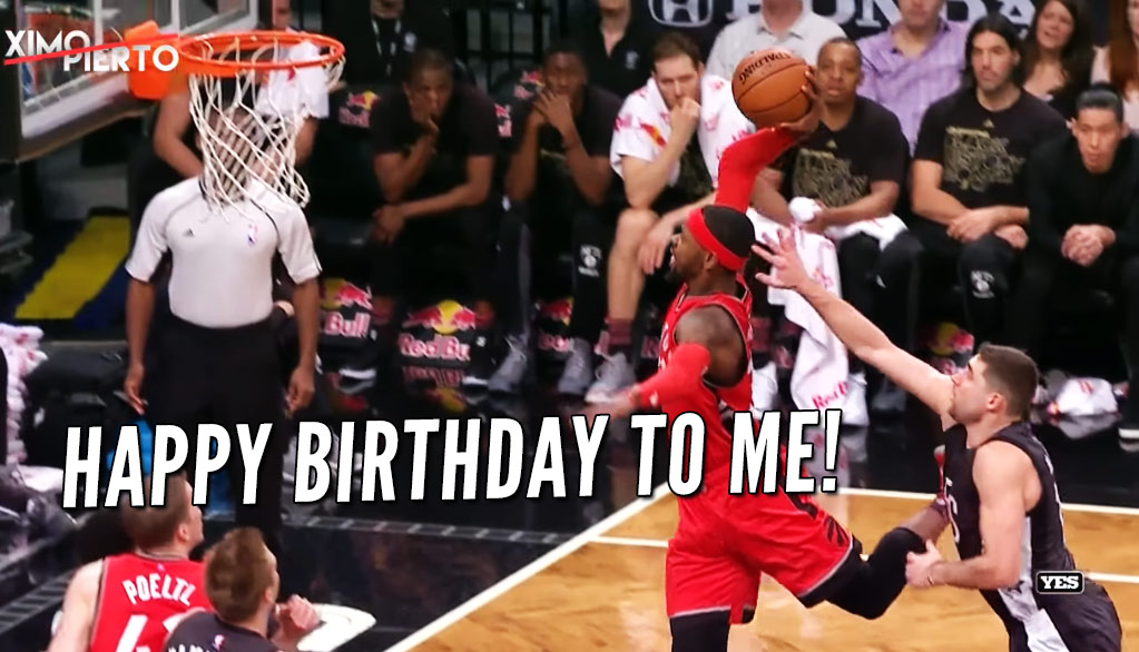 Terrence Ross Celebrated His Birthday With A Couple of Nasty Dunks Vs The Nets
