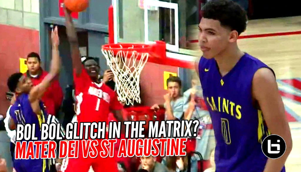 7 Footer Bol Bol Drops 26 Points Vs Taeshon Cherry's 24 In Dunk Filled Game!