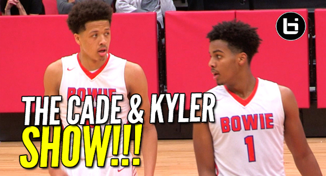 Top Ranked 9th Grader Cade Cunningham & Kyler Edwards Put On A Show! 1st Rd Playoffs Full Highlights