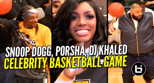 Antonio Brown Celeb Game Full Highlights With DJ Khaled, Snoop, Porsha Williams & More