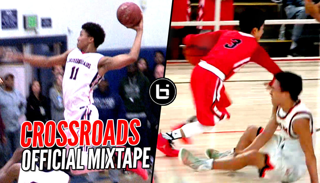 Shareef O'Neal, Ira Lee & Crossroads DON'T PLAY AROUND!! Nasty Dunks & Ankle Breakers!