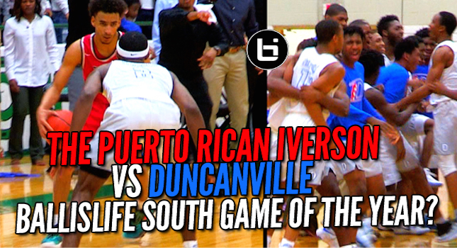Ballislife South Game of The Year? Duncanville vs Trinity Crazy 2OT Playoff Matchup!