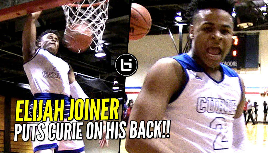 Elijah Joiner leads Curie in CRAZY Chicago Playoff Showdown!!