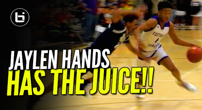 Jaylen Hands Let Us Know He Has The Juice! Hands Out 33 Pts