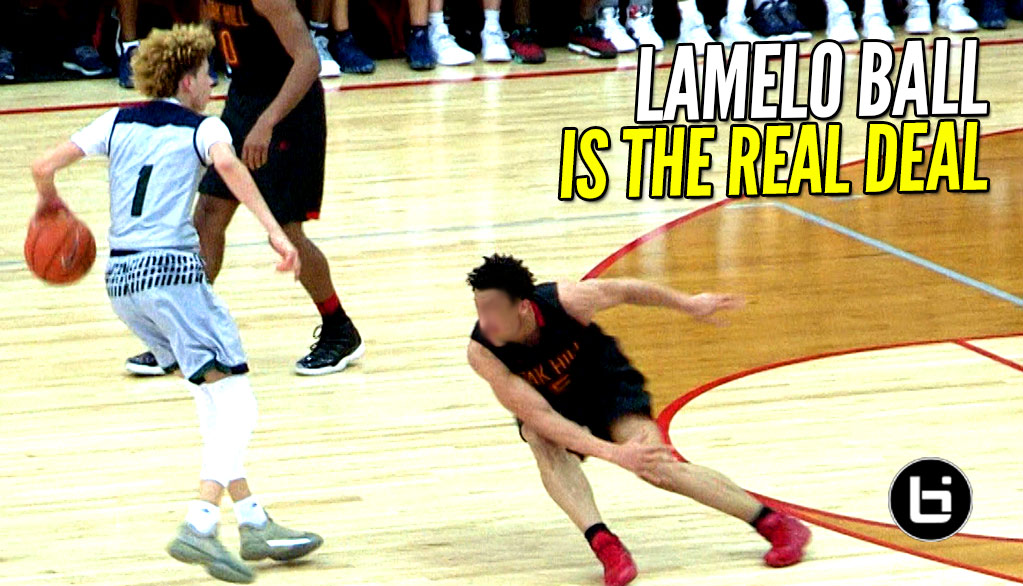LaMelo Ball Can SCORE Against ANYONE! 36 Points vs TOP Competition! Now Ranked #3 In Class