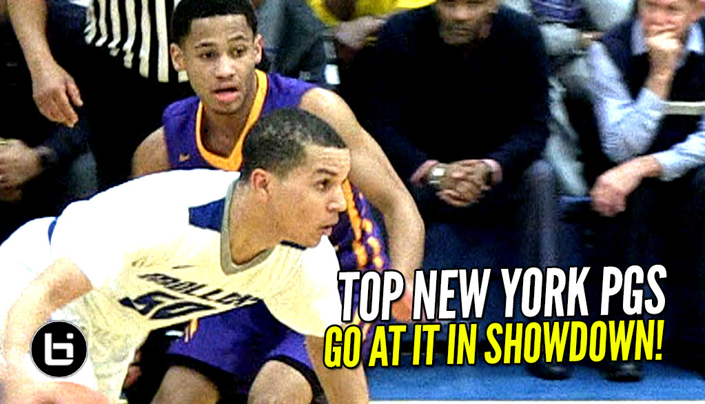 Top NYC PGs Face Off! Cole Anthony vs Markquis Nowell!