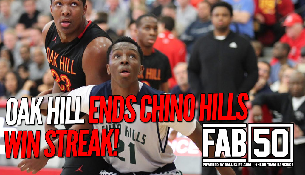 NEW FAB 50: Two Long Win Streaks SNAPPED!