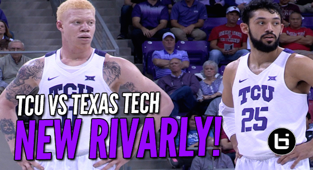 TCU vs Texas Tech New Rivalry In Big 12! Full Highlights