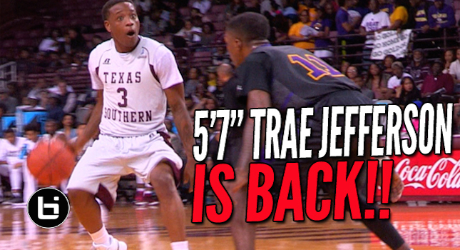5'7″ Trae Jefferson SHIFTIN' In COLLEGE! Full Highlights
