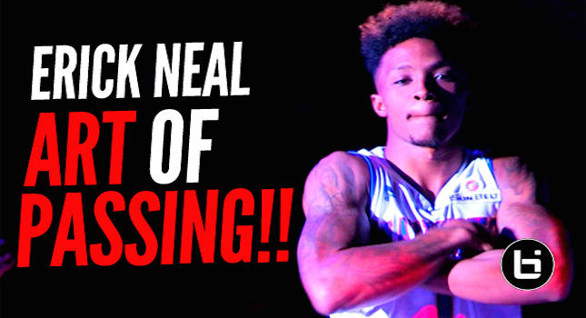 How To Be An Assist Leader In College! Erick Neal & UTA Full Highlights