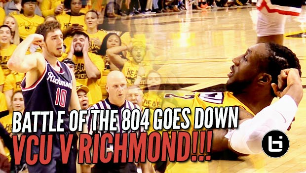 VCU Tops Richmond in the Battle of the 804! Raw Game Highlights!