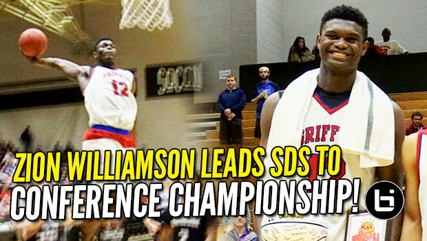Zion Williamson Leads Spartanburg Day to SCISA Conference Championship! Raw Highlights!