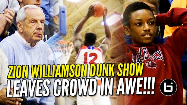 Zion Williamson Dunk Show Leaves Crowd in Awe! 35/8 in Front of Roy Williams! Game Highlights!