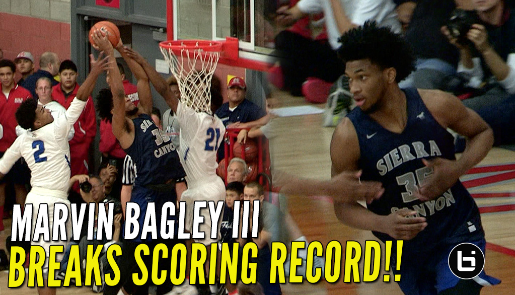 Marving Bagley III Breaks NikeX Scoring Record with 43 Points VS Gorman!!