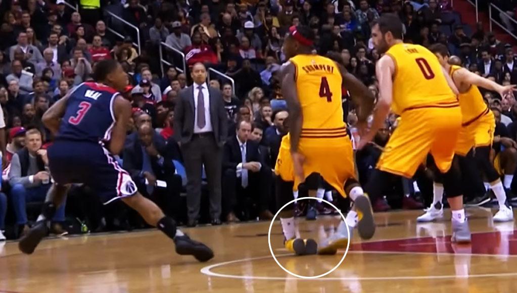 Kevin Love/Bradley Beal Break Iman Shumpert's Ankles (Literally)