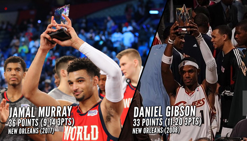 Jamal Murray Wins Rising Stars MVP With 36 Points, 11 Assists, 9 3s & 1 Daniel Gibson Reminder