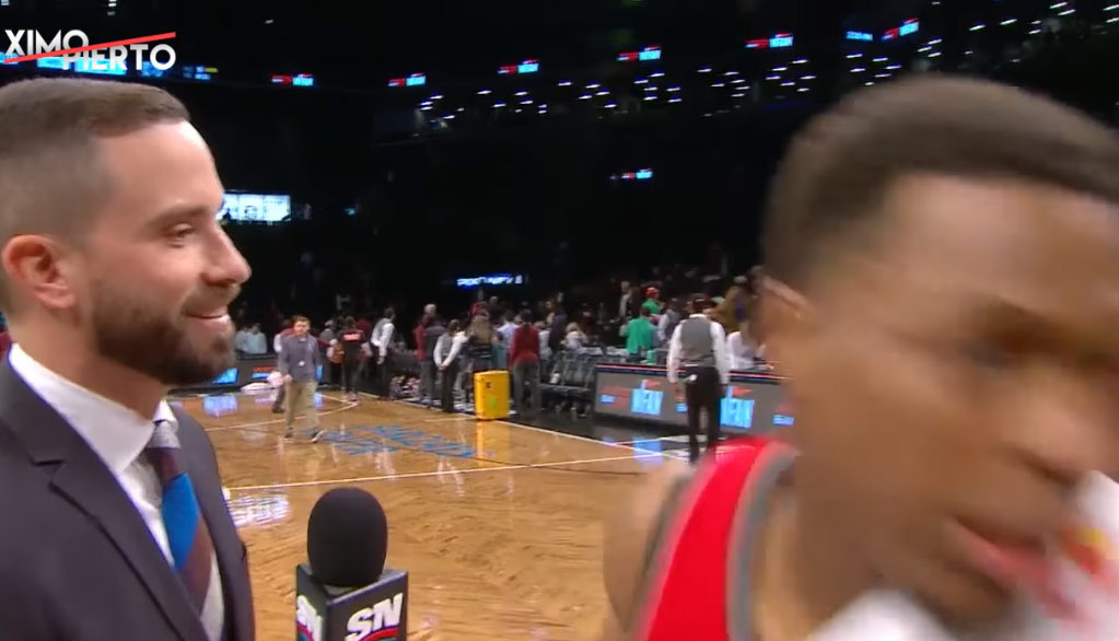 Kyle Lowry Gives One Of The Quickest Postgame Interviews Ever