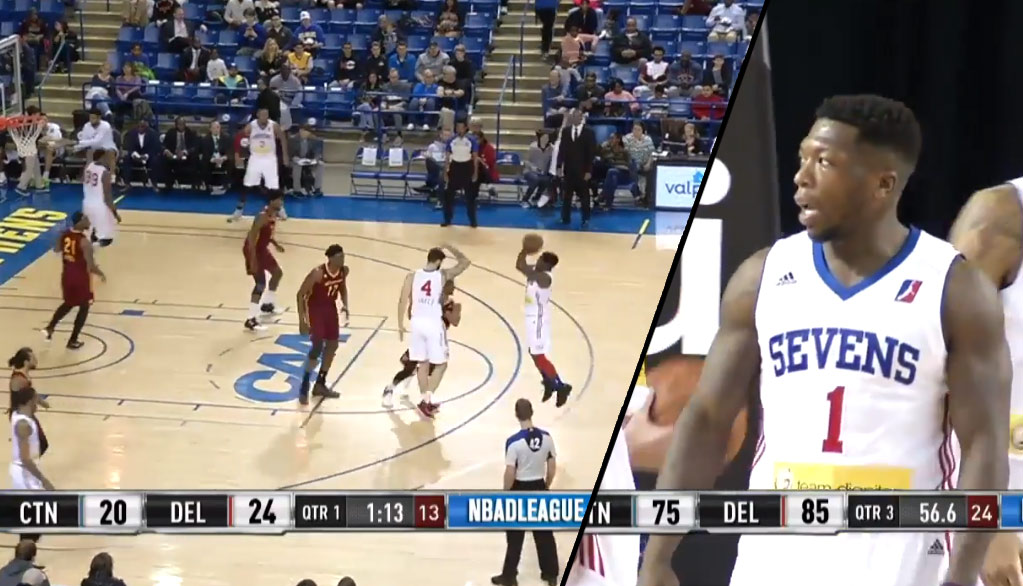 Nate Robinson Shows Off His Handles, Scores 14 In His 2nd D-League Game