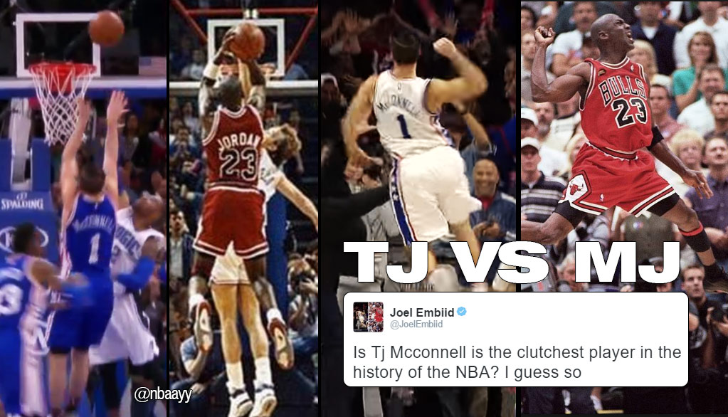 Forget MJ! T.J. McConnell Is The Most Clutch Player In NBA History!!