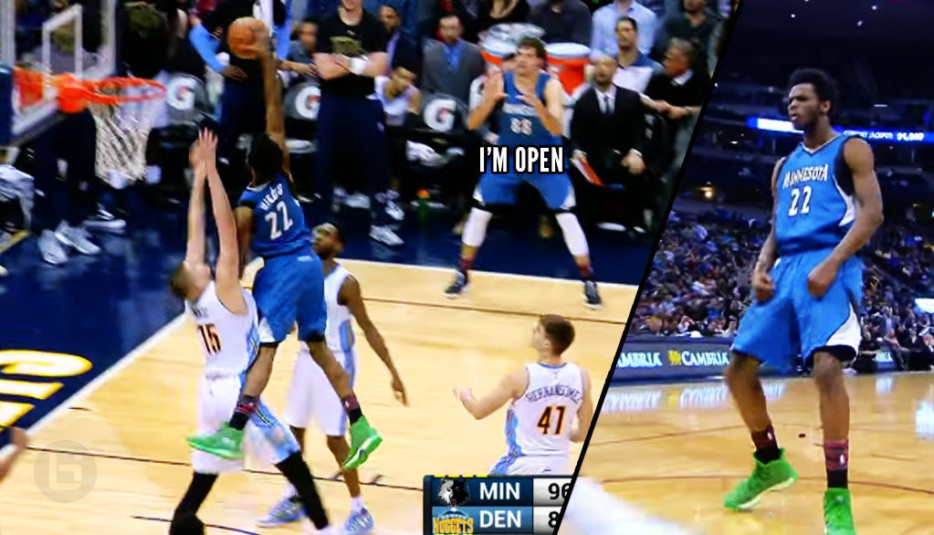 Andrew Wiggins Posterizes The Joker On His Way To Back-To-Back 40-Point Games