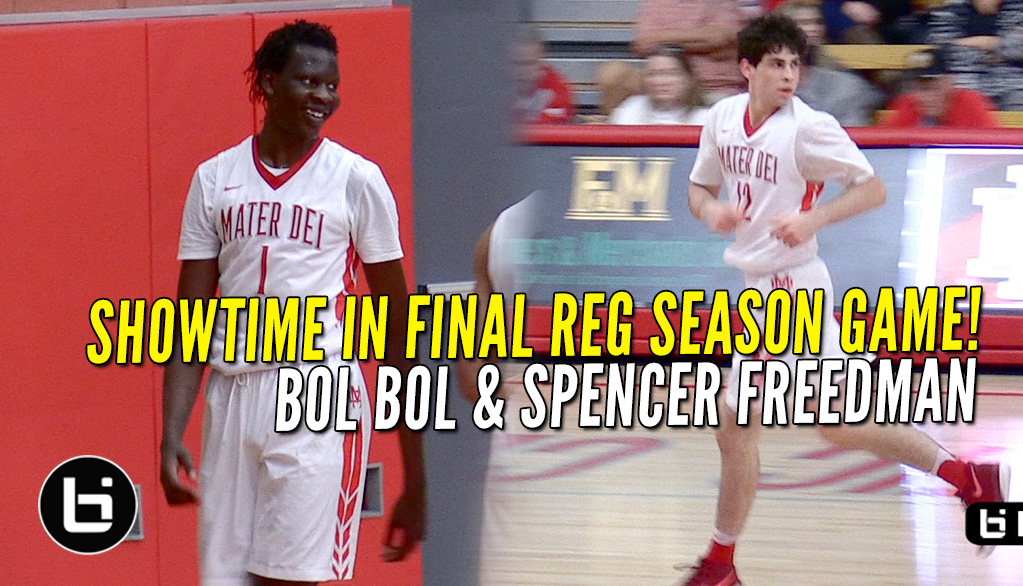 Bol Bol & Spencer Freedman Combine for 56 Points In Win!!
