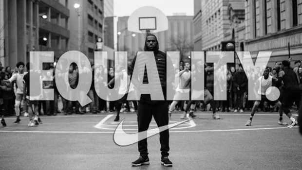 NIKE USES THE POWER OF SPORT TO STAND UP FOR EQUALITY