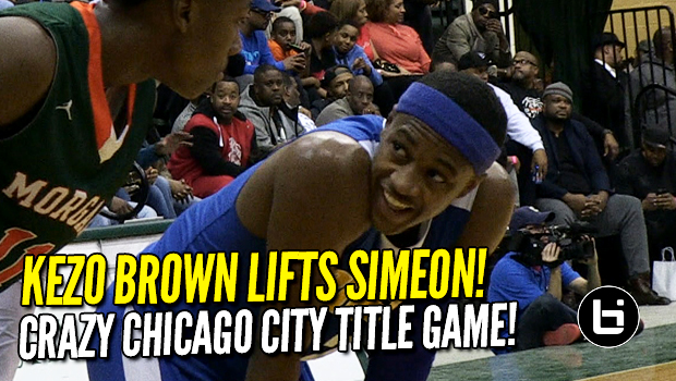 Kezo Brown Lifts Simeon to Chicago City Title!