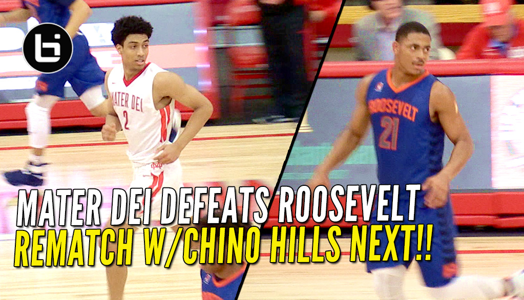 Mater Dei Routes Roosevelt; Will Get Rematch With Chino Hills!